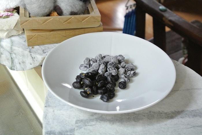 黒豆のしぼり豆5
