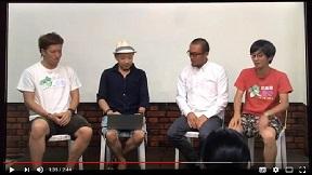 桐生まちなか配信(2016.08.04) 出演しながらスイッチ切り替え!