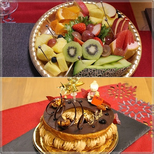 s-クリスマスデザート