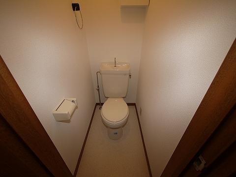 ハイツ欅101トイレ