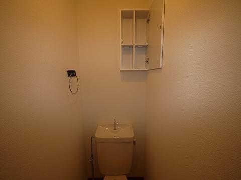 ハイツ欅101トイレ収納