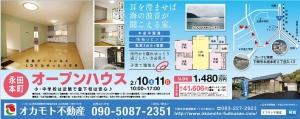 永田町戸建 オープンハウスチラシ