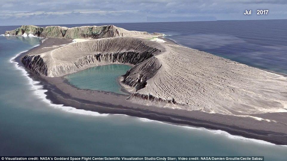 【NASA】トンガ沖に出現した「フンガトンガ・フンガハアパイ島」が火星生命探査の手掛かりになる