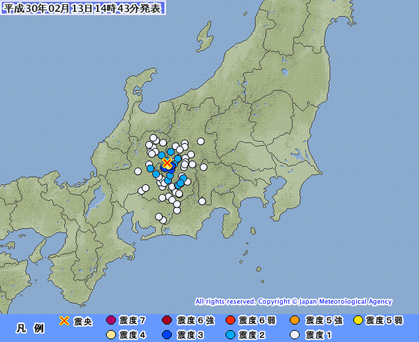 昨日、長野県南部で「震度4と3」の地震が続けてあったけど「御嶽山」と関係あるのかな?