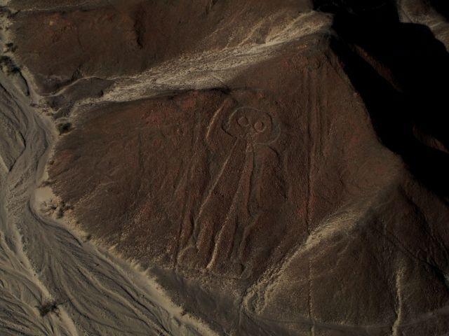 【テレビ】ナスカの地上絵の「宇宙人説」を否定…タレント・鶴田真由「描くのは簡単そう」