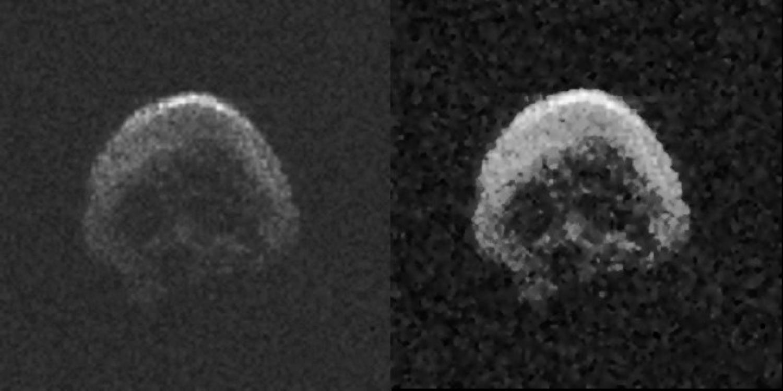 【2015 TB145】ドクロ型の小惑星がまたも地球のそばに!前回は2015年10月31日頃に接近していた模様