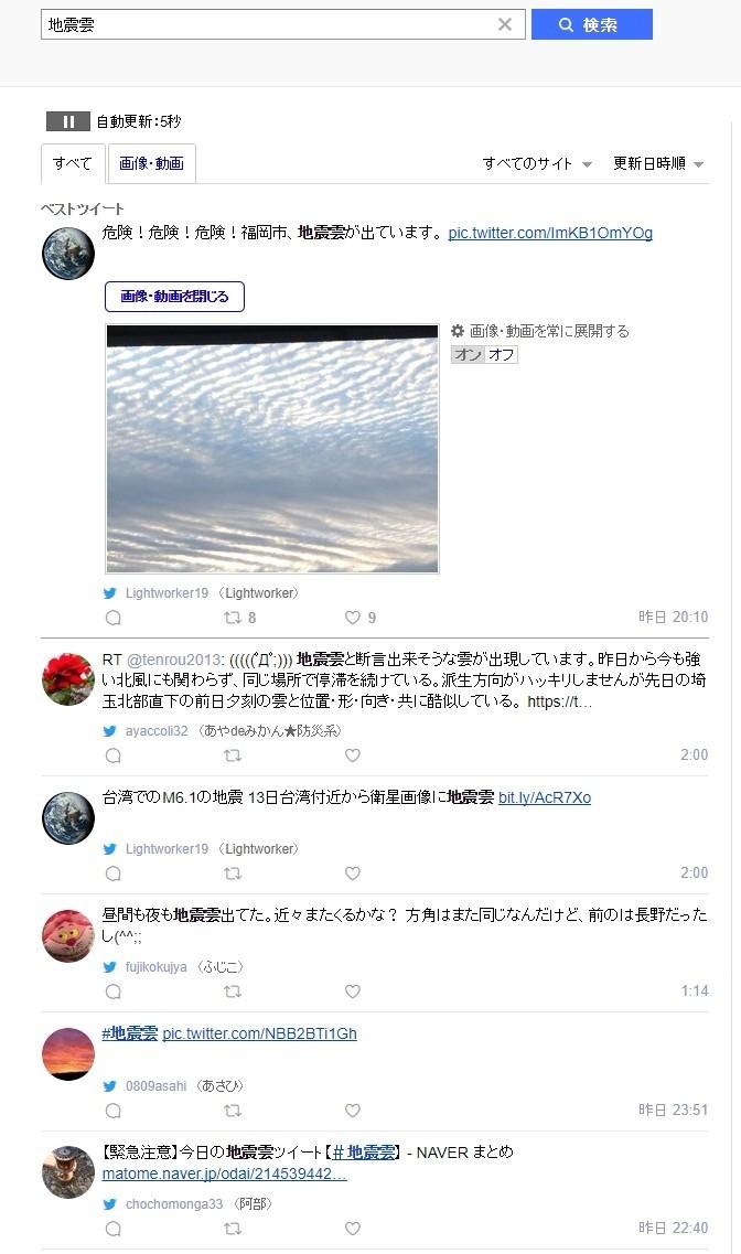【宏観】太平洋側で「地震雲」の目撃報告が結構あるけど、どうなのかな?