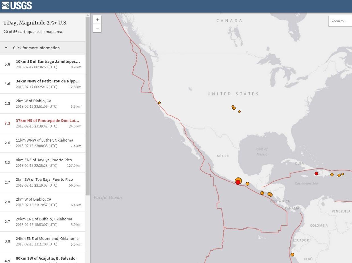 メキシコ南部で「M7.2」の大地震が発生…去年9月に起きた「M7.1」の場所と同じか