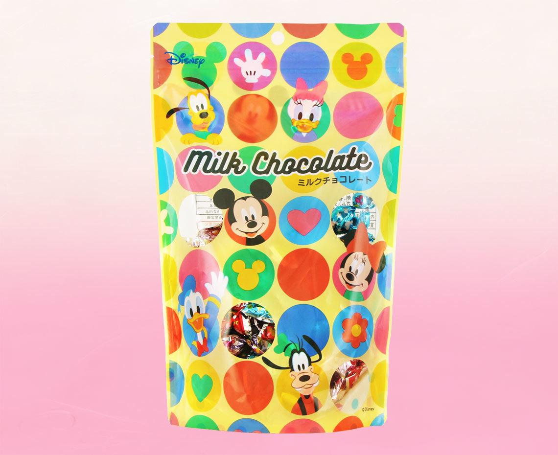 ディズニーミルクチョコ