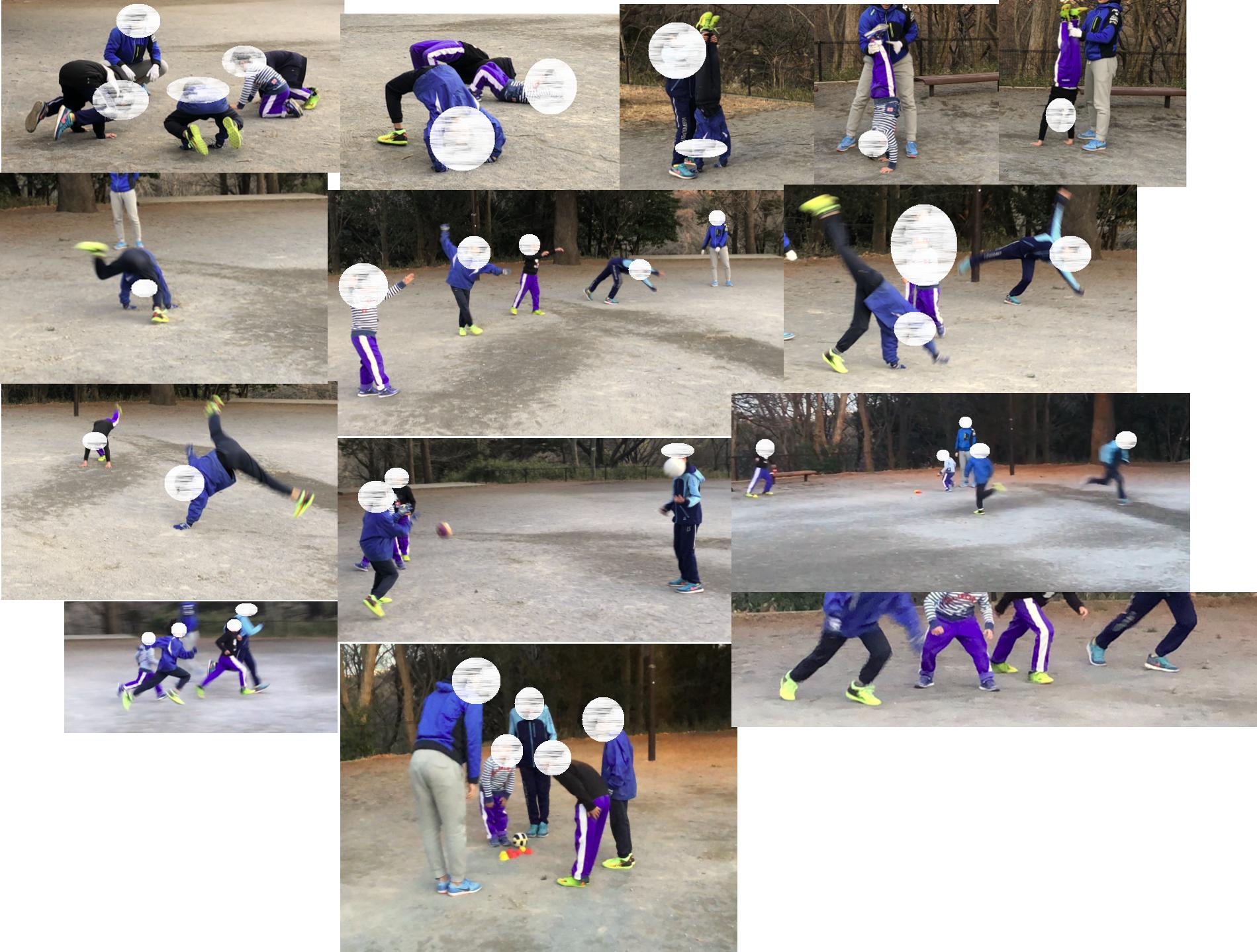 2018年2月8日 無料体験『サッカーX陸上』クラス ~ ムーブメントキャパシティ(運動多様性)とは?