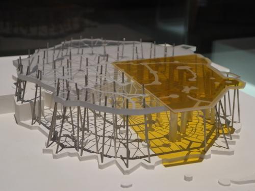 コロニアグエル模型2