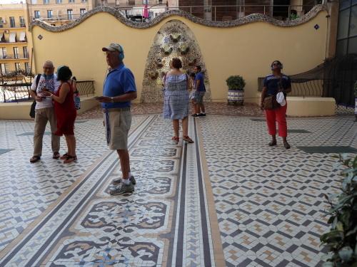 カサバトリョ中庭
