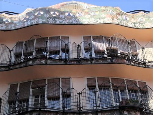 カサバトリョ中庭から見上げる(light)