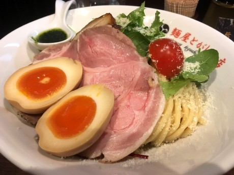 20180206トマトつけ麺 (2)