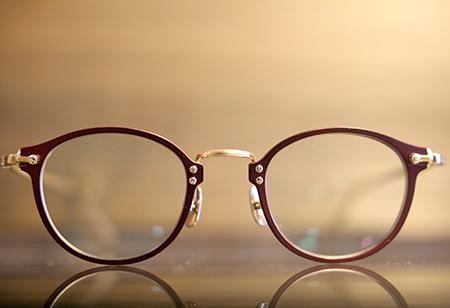 steady ステディー めがね サングラス クラシック 赤いメガネ 長岡市のメガネ店