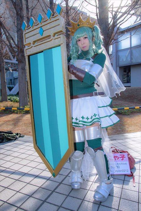 二葉さな マギアレコード 魔法少女まどか☆マギカ外伝 コスプレ 1