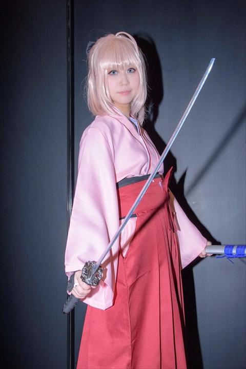 Fate 桜セイバー コスプレ 4