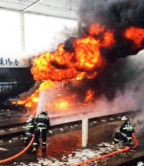 中国高速鉄道火災事故