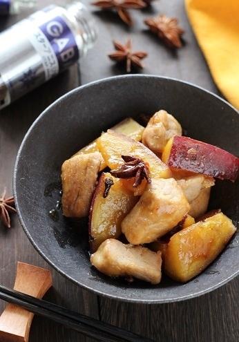 豚肉とさつまいもの八角煮2
