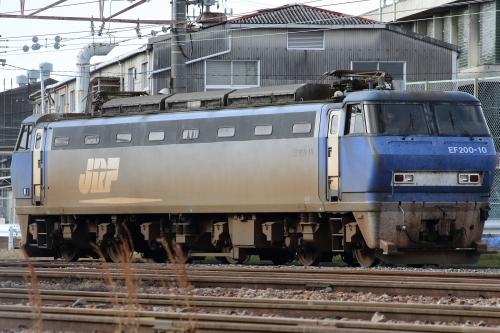 2018年正月運休 JR吹田機関区 EF200-10