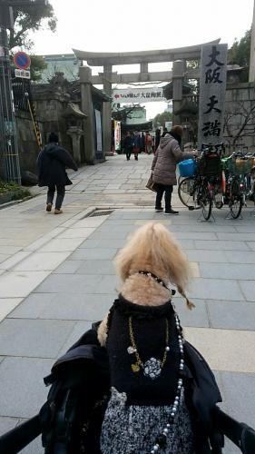 大阪天満宮節分