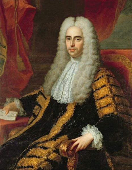 条約の調印に大きな役割を果たしたジョン・メシュエンの肖像画