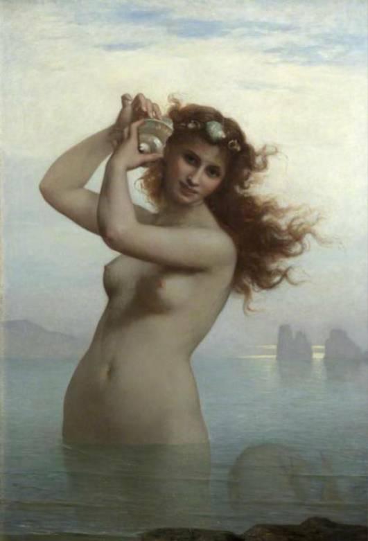 『セイレーン』シャルル・ランデル 1879年