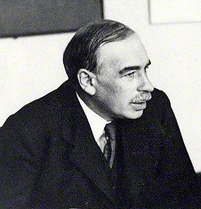 ジョン・メイナード・ケインズ 1933年