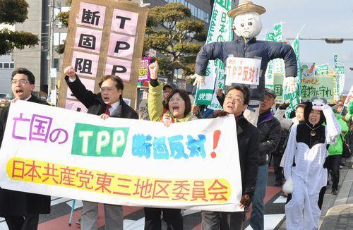TPP反対 共産党 1