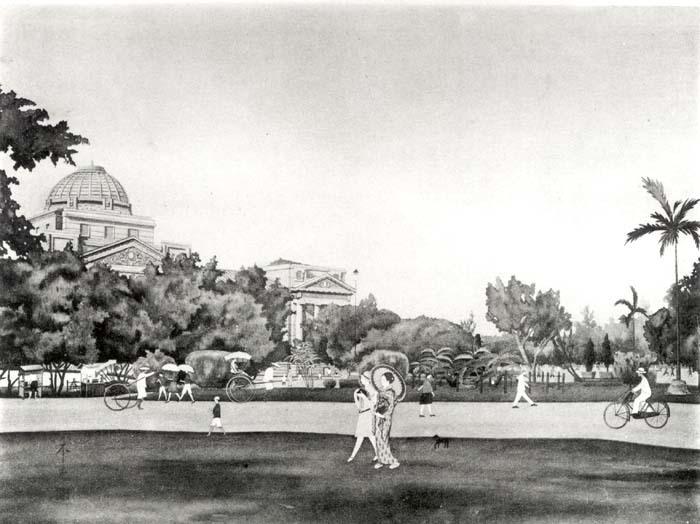 新公園時代の旧景