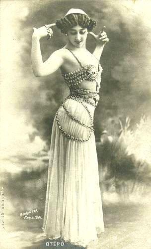 ラ・ベル・オテロ、1905年頃