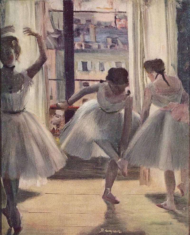 エドガー・ドガ『三人の踊り子』(1873)