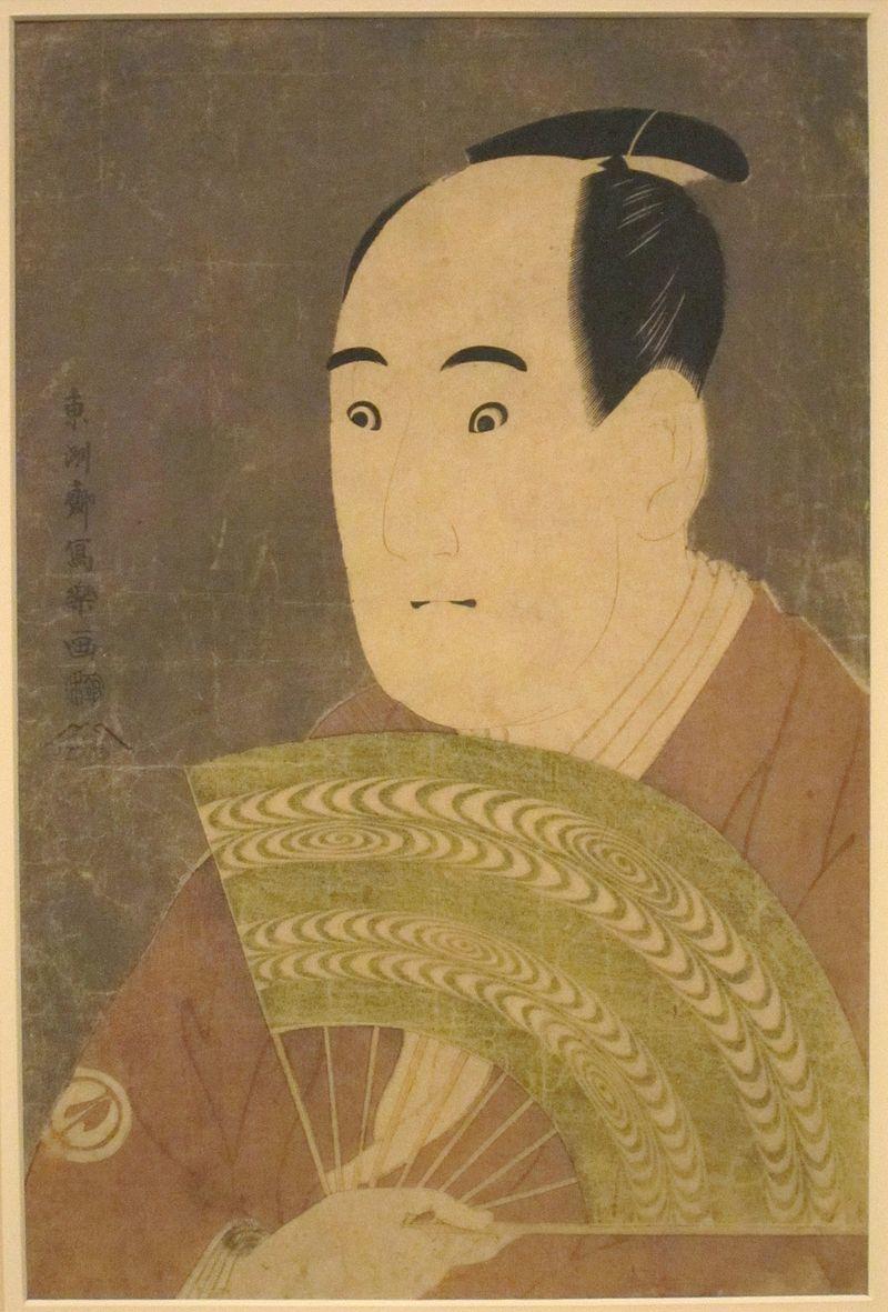 東洲斎写楽『三代目澤村宗十郎の大岸蔵人』