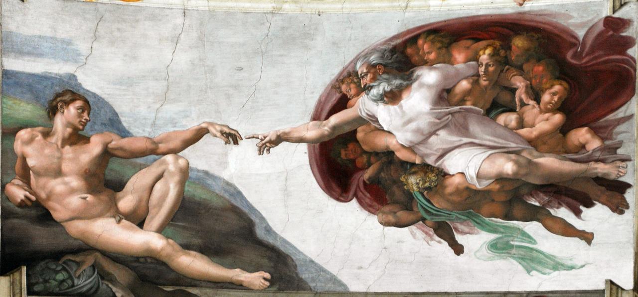 アダムの創造