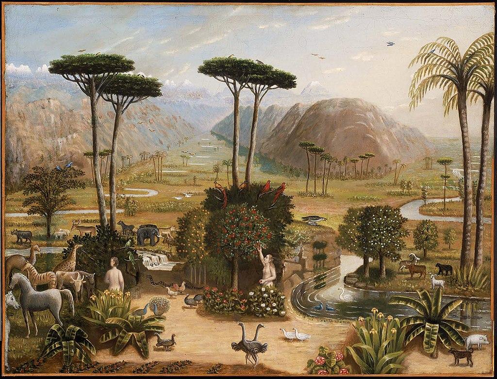 エラストゥス・ソールズベリー・フィールド『エデンの園』