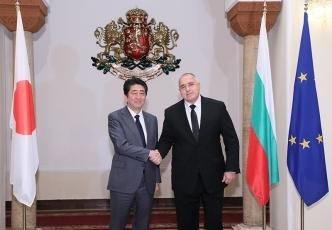 日・ブルガリア首脳会談