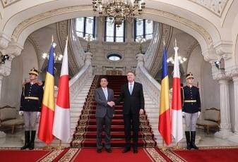 日・ルーマニア首脳会談