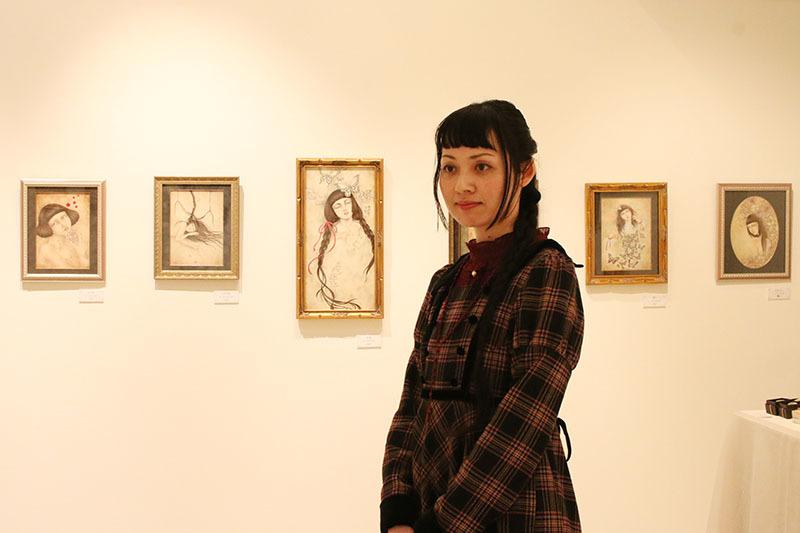 ヴァニラ画廊 耽美画家 安蘭 銀座 ギャラリー Sanctum aran