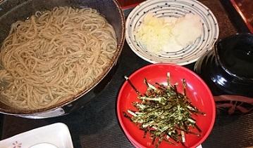 1食目、蕎亭松庵