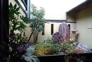 羽根屋さん中庭