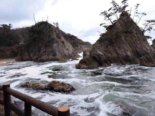 10浦富海岸