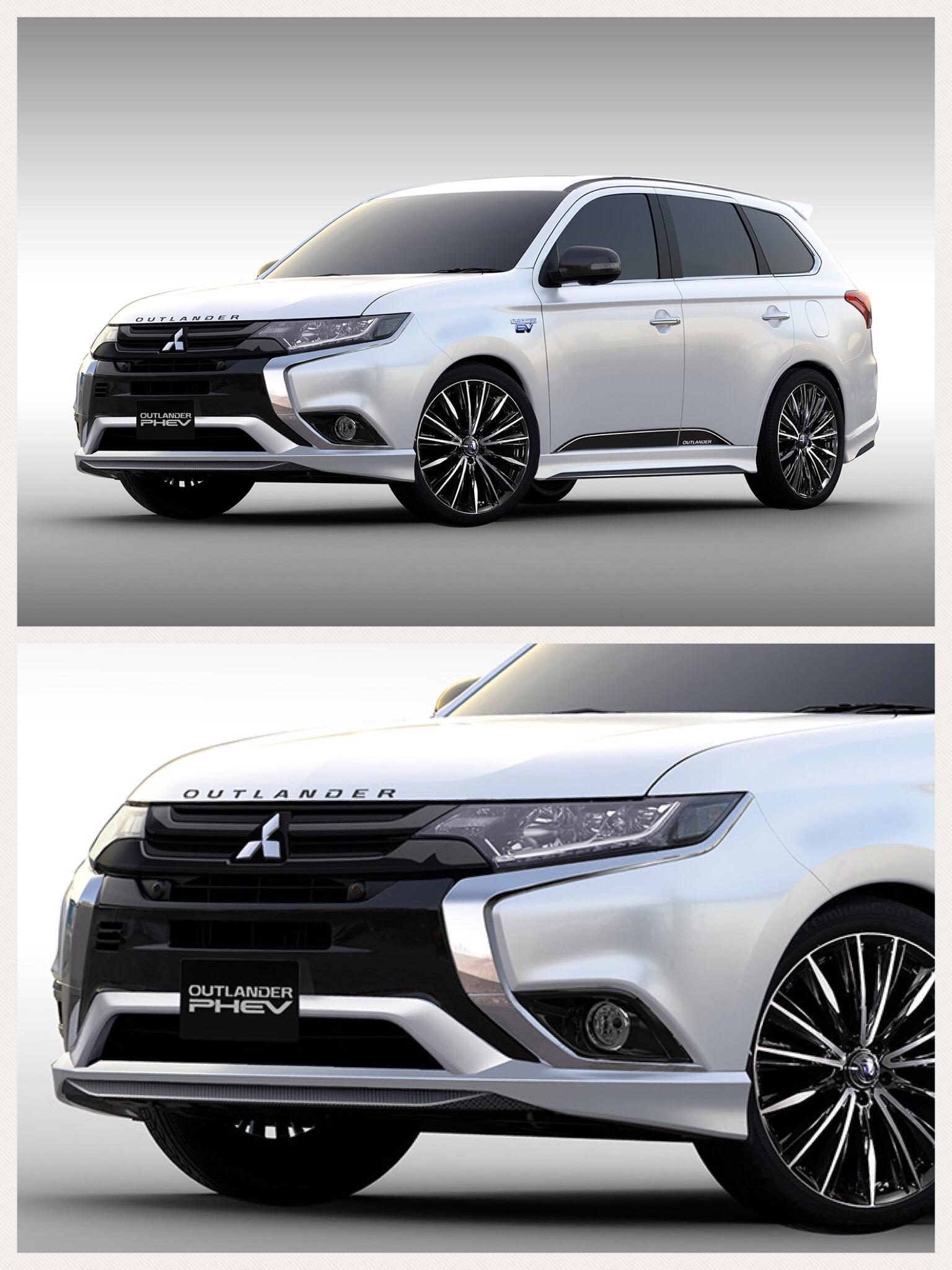 アウトランダーPHEV プレミアムスポーツコンセプト Mitsubishi outlanderphev premium sports consept