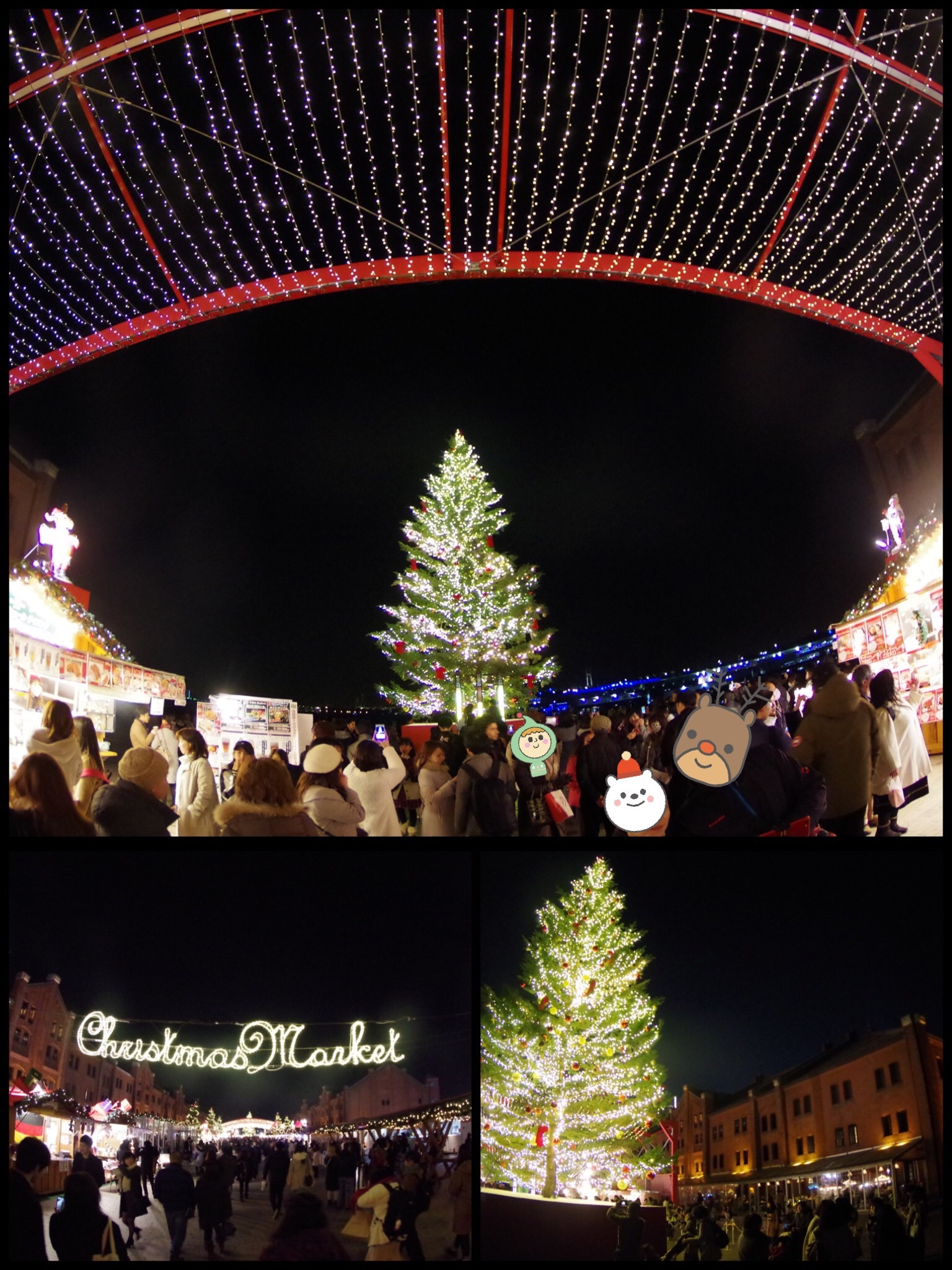 横浜赤レンガ倉庫 クリスマスマーケット インターコンチネンタル横浜
