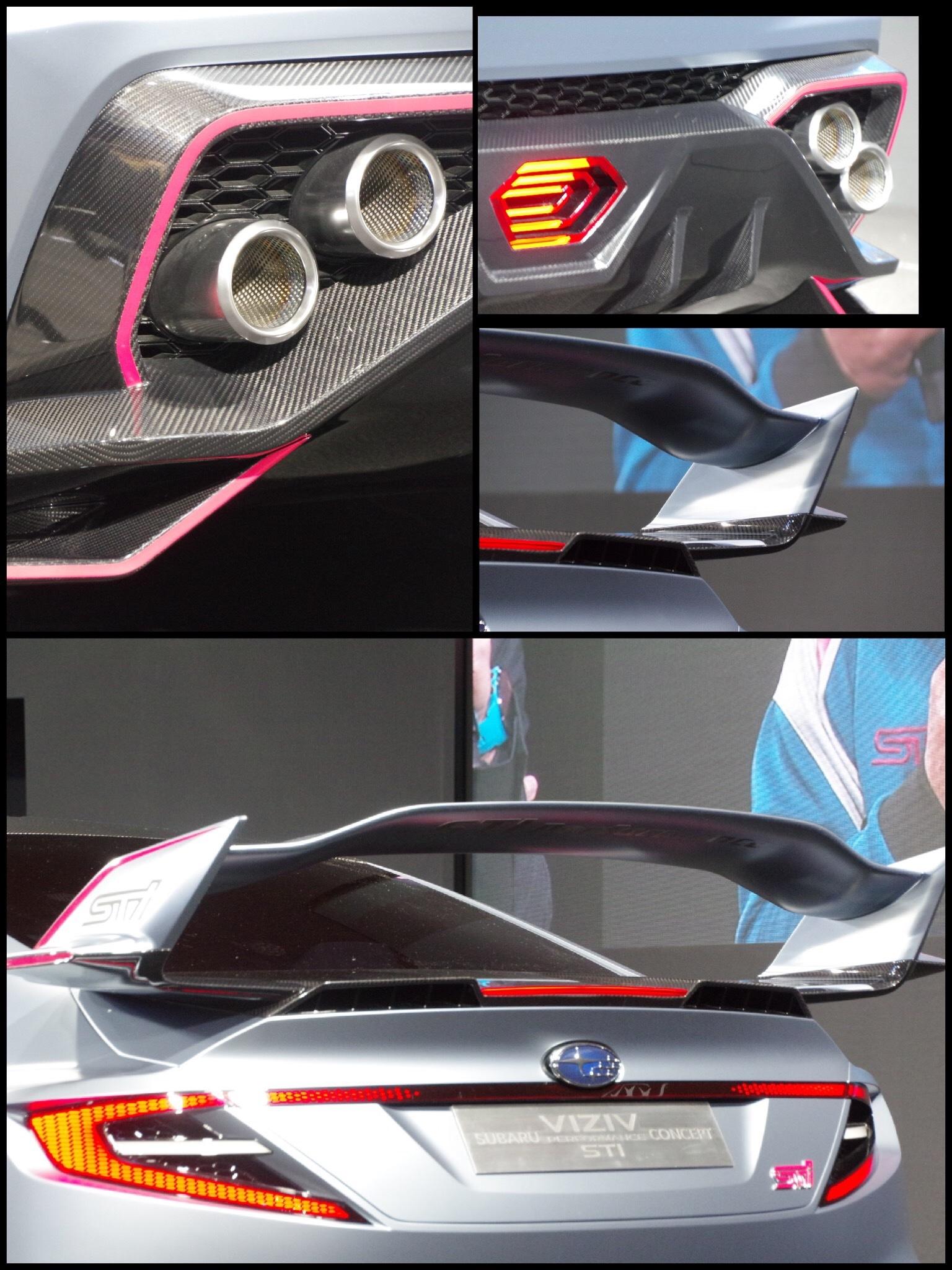 東京オートサロン2018 スバルブース VIZIV STIコンセプト
