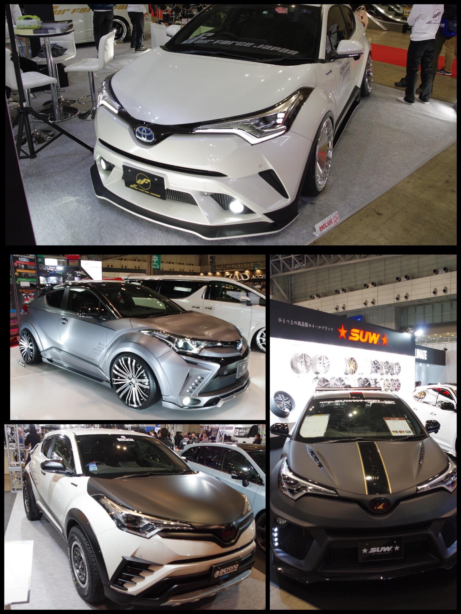 東京オートサロン2018 トヨタ C-HR カスタム