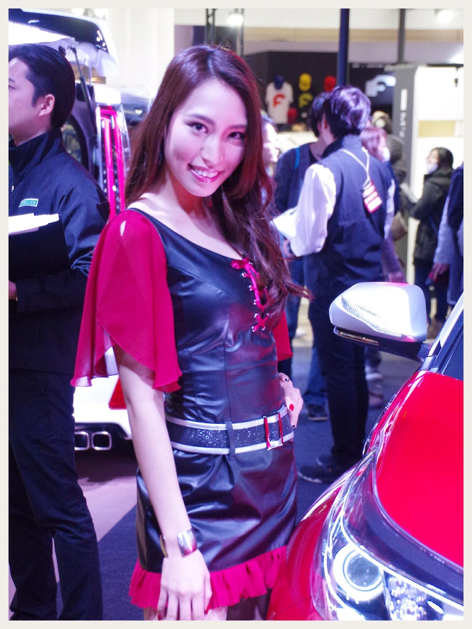 東京オートサロン2018 トヨタモデリスタコンパニオン嬢