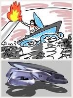 空飛ぶクルマ 東京五輪