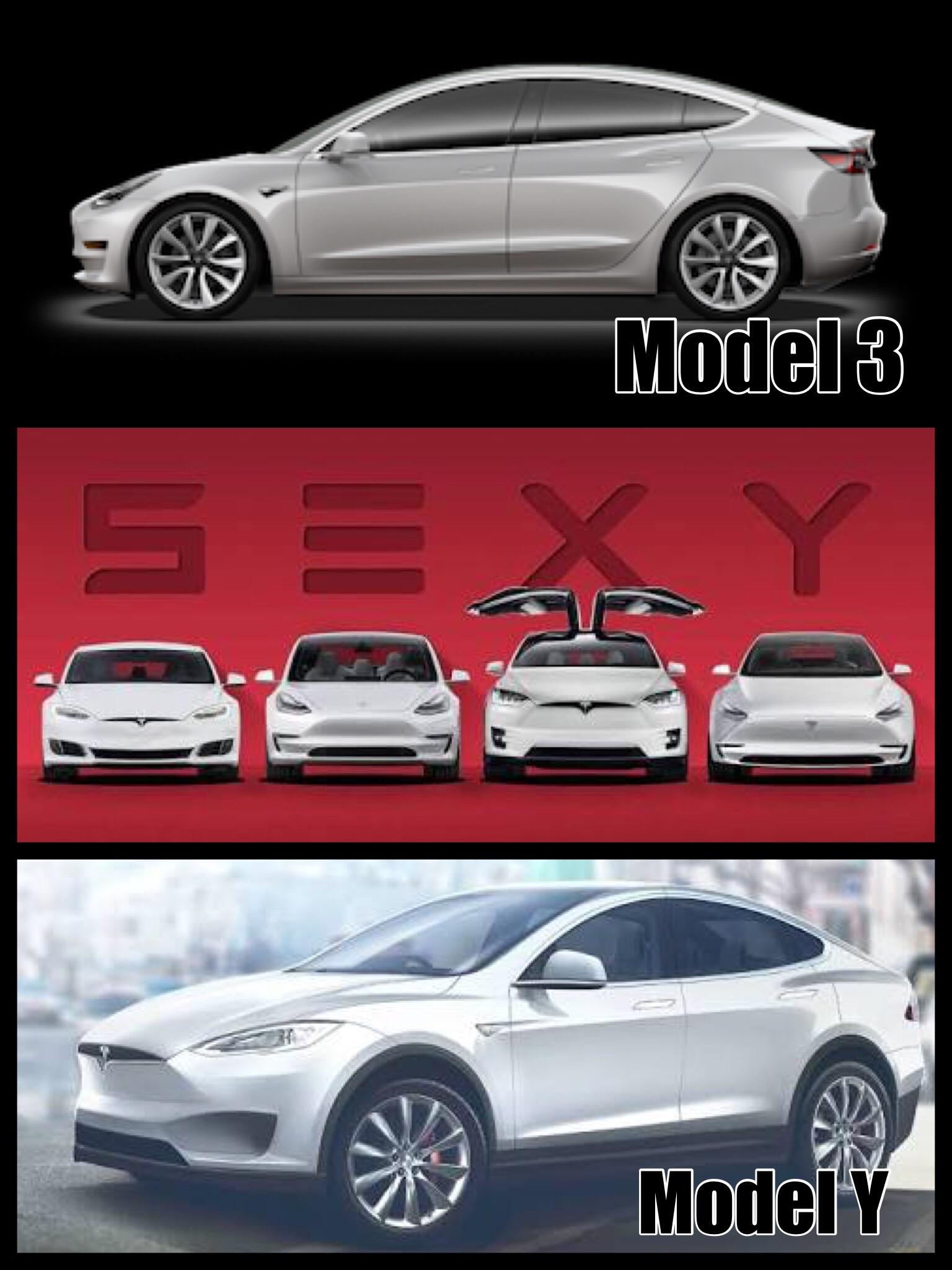 テスラ モデル3 モデルY