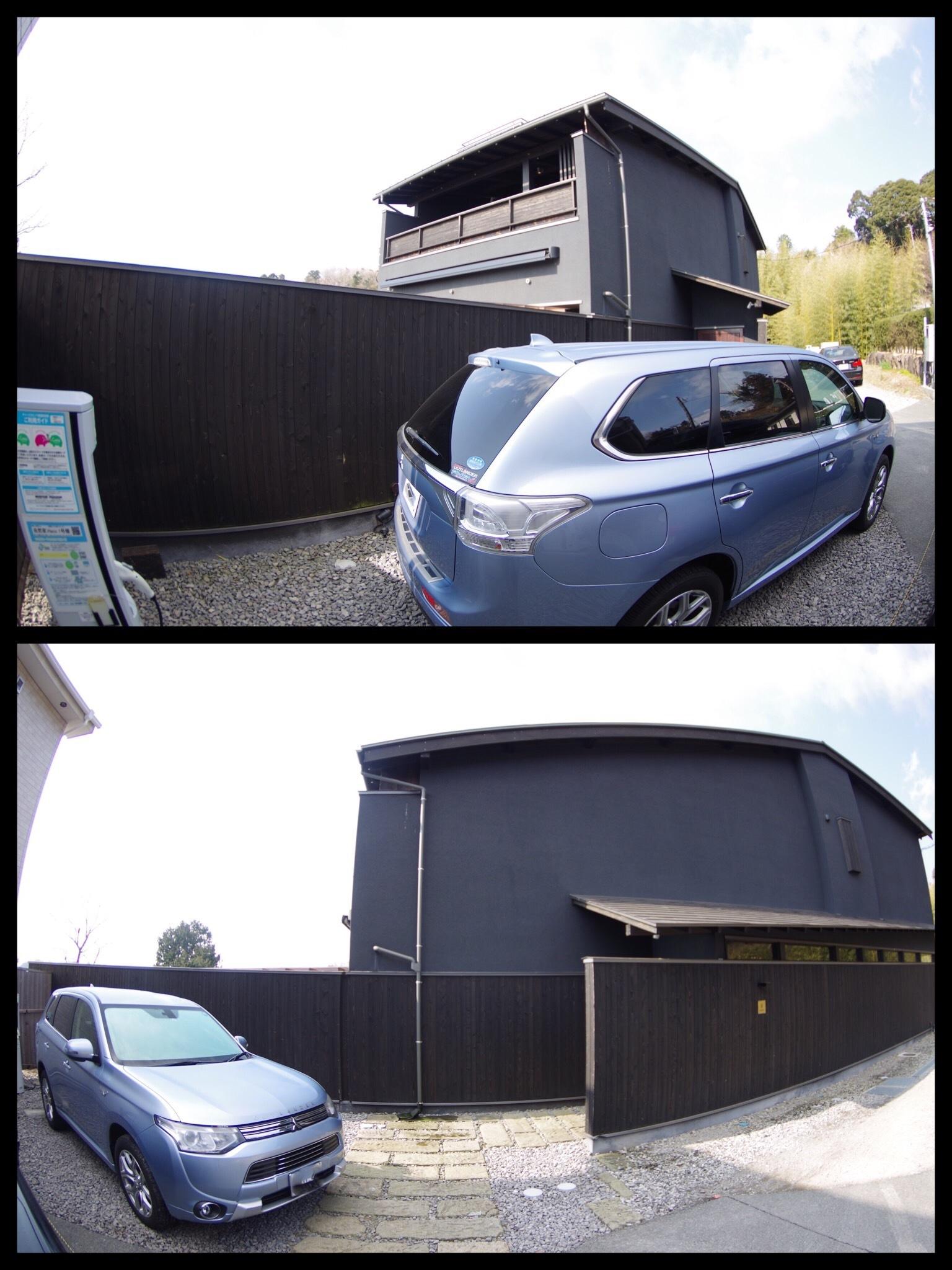 伊豆高原 記念日を祝う宿 自然家 Haco EV充電器