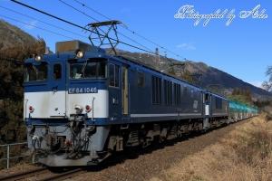 8084レ(=EF64-1046+EF64-1049牽引)